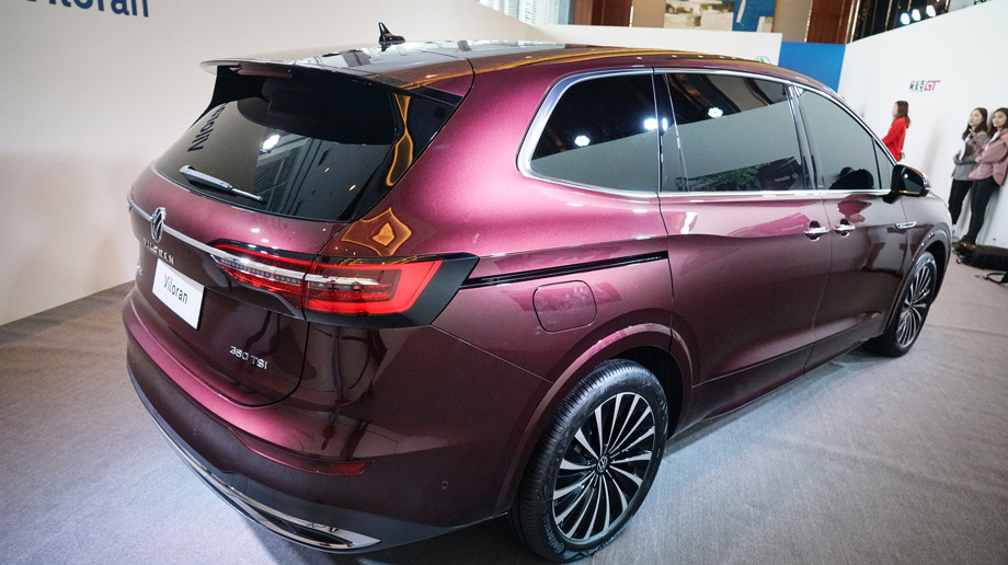 Новая модель Volkswagen Viloran на базе MQB