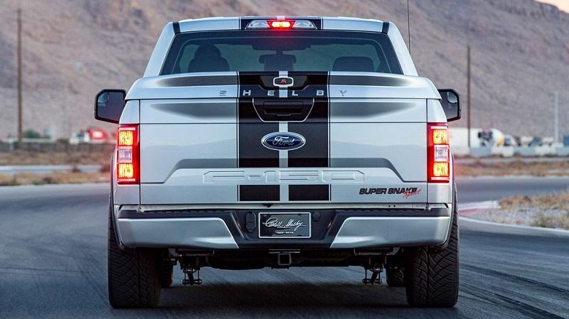"Ford готовит к выпуску ""заряженный"" грузовик Shelby F-150 Super Snake Sport"